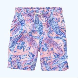 NWT Lilly Pulitzer Boys Swim Shorts Size Small